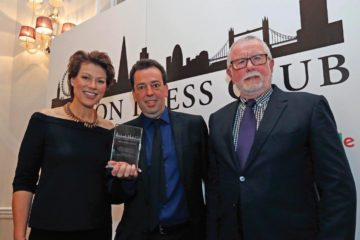 L-R Kate Silverton, David Cohen and Bill Hagerty. PICTURE BY: NIGEL HOWARD/EVENING STANDARD
